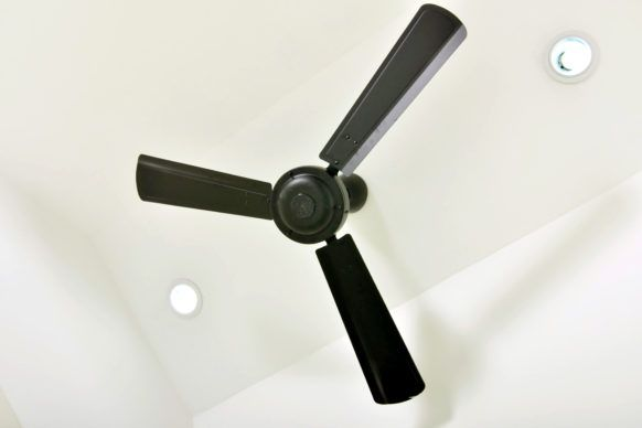 Matt Black Hunter-Pacific Ceiling Fans brisbane